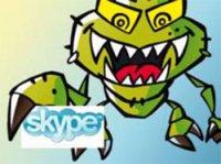 Снимка - вирус на Skype