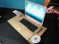 Дървен лаптоп