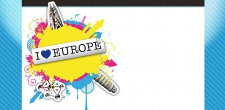 лого, плакат, европейски конкурс, ес, европа, дизайн