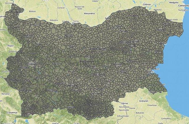 Граници на землищата в България